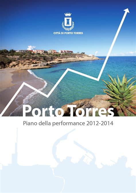 Comune Di Porto Torres Ufficio Anagrafe by Piano Della Performance Porto Torres By Comune Di Porto