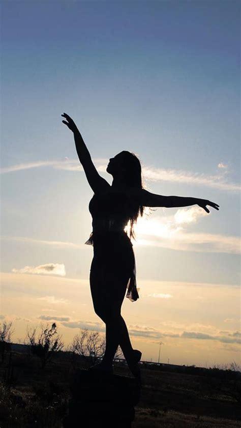 silhouette dancer texas sunset sandy berend photography