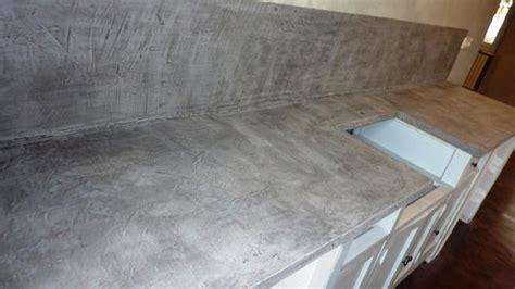 mati鑽e plan de travail cuisine beton cire sur carrelage plan de travail cuisine photos de conception de maison elrup com