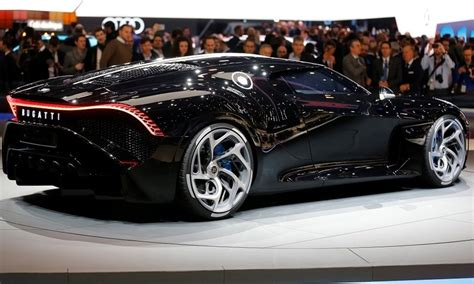 This is one of only 38 type 55s produced and is one of the most. Bugatti debuts $14 million one-off La Voiture Noire supercar