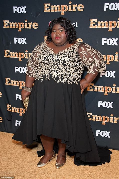 Gabourey Sidibe Memes - empire s gabourey sidibe hits back at haters who fat shamed her over love scene daily mail