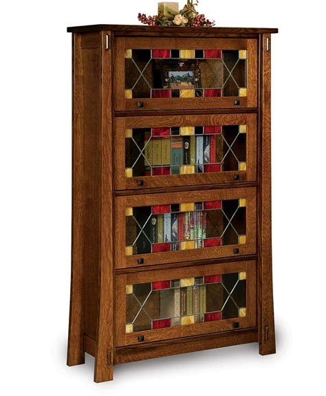Barrister Bookcase by Modesto Barrister Bookcase Amish Direct Furniture