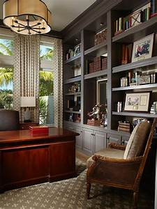 Home, Office, Built, In, Cabinet, Design, Ideas, 22