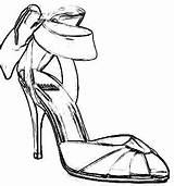 Coloring Heel Pages Heels Shoes Langeveld Origami Joost Shoe Bow Bing Joostlangeveldorigami Nl Books Clipart 1000 sketch template