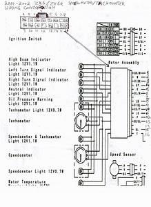 2000-2002 Zx6  Zx6r Speedometer  Tachometer Wiring - Kawiforums