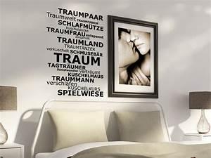 Bild Fürs Schlafzimmer : wandtattoo f rs schlafzimmer traumhafte wandtattoos im ~ Michelbontemps.com Haus und Dekorationen
