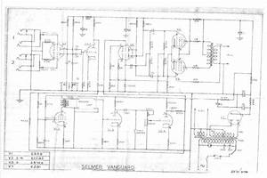 Selmer Vanguard Schematic