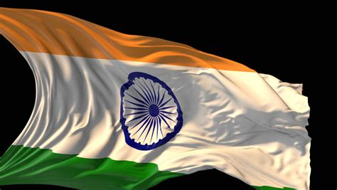 Indian Flag Animated Wallpaper 3d - a large indian flag waving in the wind in bangalore