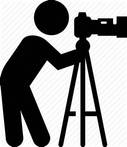 Camera Icon Photographer Clipart Icons Studio Taking