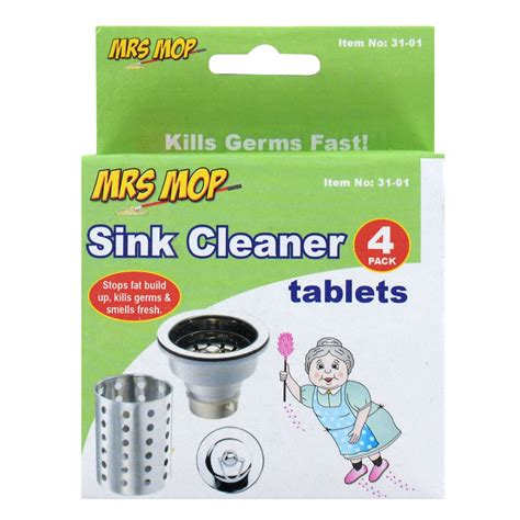 sink drain smell cleaner new sink cleaner tablets kills germs smell fresh clean