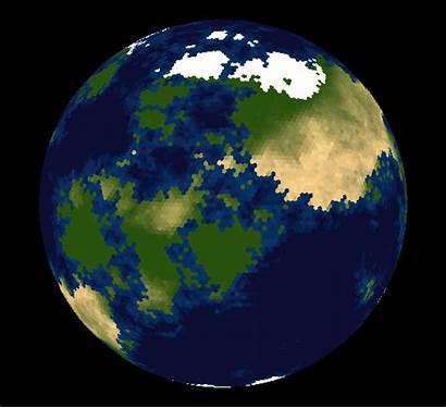 Sphere Hexagonal Earth Map Grid Tiles Planet