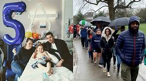 Over 4,800 people queue for stem cell test to help 5-yr ...