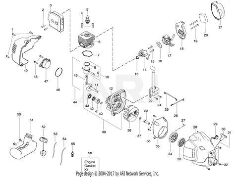 Eater Diagram by Poulan Te475y Gas Trimmer Parts Diagram For Engine