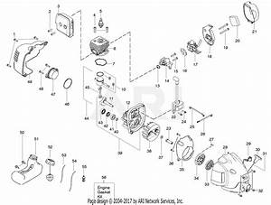 Poulan Te475y Gas Trimmer Parts Diagram For Engine