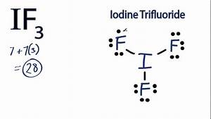 If3 Lewis Structure  How To Draw The Lewis Structure For
