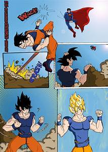Goku vs superman the ultimate battle (2 of 4) by ...