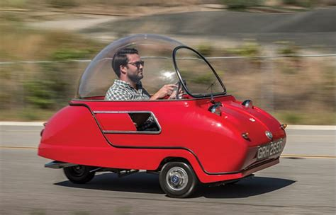 This Is The Tiniest Car You Have Ever Seen - Peel P50 ...