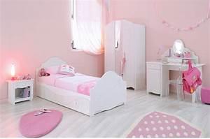 Chambre Complete Fille : chambre coucher fille chic glamour pour chambre enfant compl te ~ Teatrodelosmanantiales.com Idées de Décoration