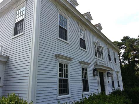 federal colonial exterior trim  siding  federalcolonial widows  doors