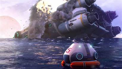 Subnautica Wallpapers Trailer Access Early Background
