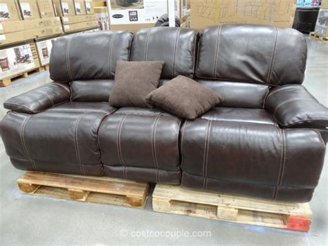 Loveseat Costco by Cheers Clayton Motion Leather Loveseat