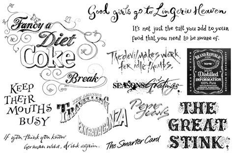 Typographie, Calligraphie, Plein De Choses En Ie Typo