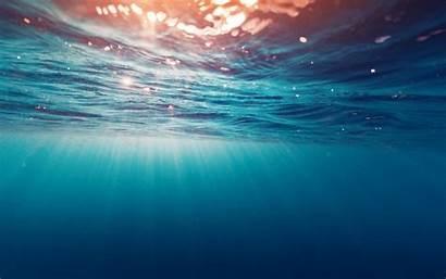 Sun Underwater Rays Water Backgrounds Desktop Mobile
