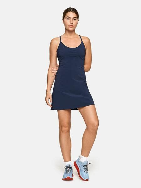 outdoor voices exercise dress  evergreen  workout