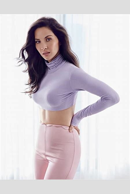 Olivia Munn Cosmopolitan Mexico April 2017 Cover Photoshoot