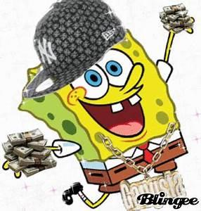 gangsta spongebob x Picture #101559581 | Blingee.com