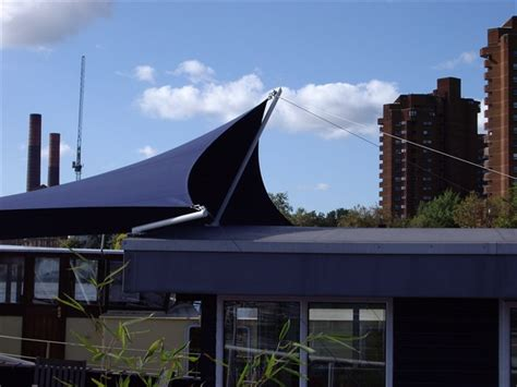 Boat Canopy Thames by Boat Terrace Sunshade House Boat Canopy