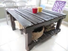 pallet patio table pallet furniture plans