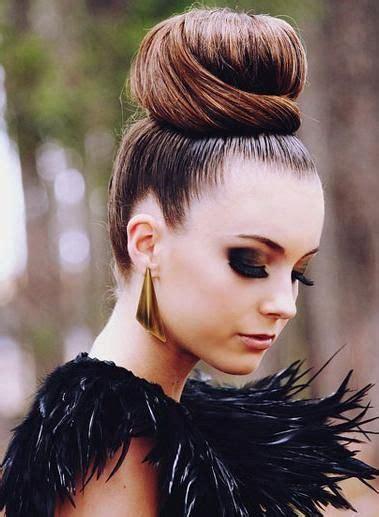 glam bun hairstyles hair styles