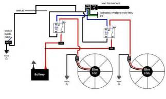 similiar electric 2 speed fan wiring diagram keywords electric radiator fan wiring diagram also electric fan relay wiring