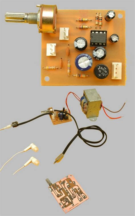 Amplifier With Tdam Stereo Electronics Projects