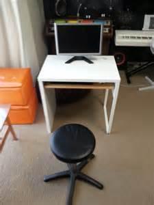 Ikea Micke Two Person Desk by Ikea Micke Desk With Keyboard Tray Ikea Hackers Ikea