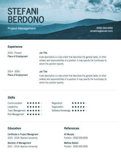 Where Can I Create A Free Resume by Free Resume Maker Creative Templates To Make An Impression