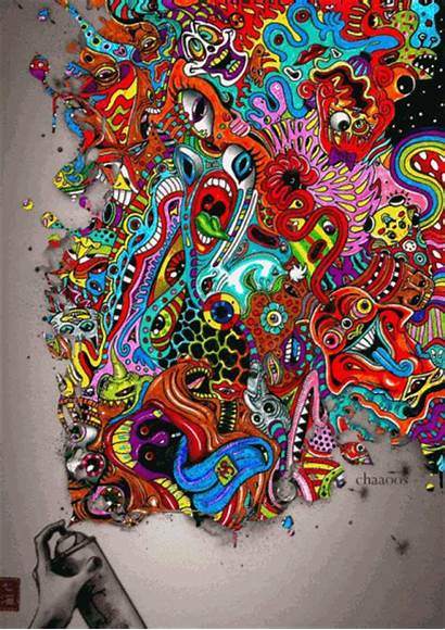 Trip Dope Trippy Graffiti Weed Psychedelic Swag