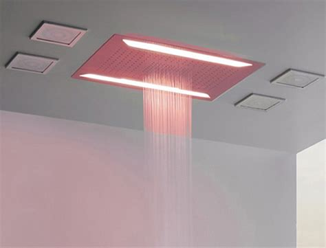 Aqua Sense electronic shower system delivers spa-like