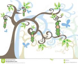 magic tree baby boy in a pod royalty free stock image image 2854046