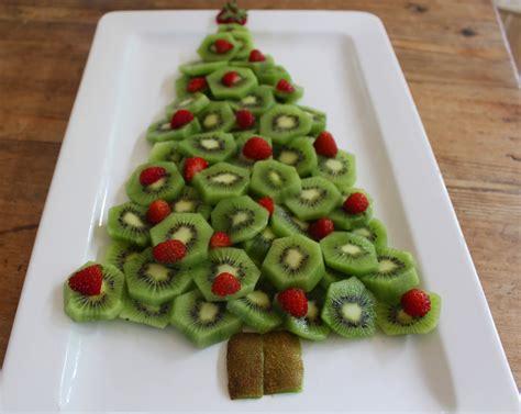 Kiwi Fruit And Strawberry Christmas Tree
