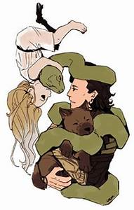 Loki and his children on Pinterest   Loki, Loki's Children ...