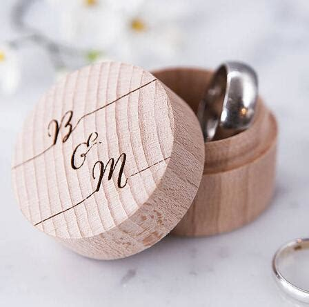 personalised calligraphy proposal couples ring bearer