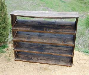 Wooden Pallet Entryway Shoe Rack - Pallets Pro
