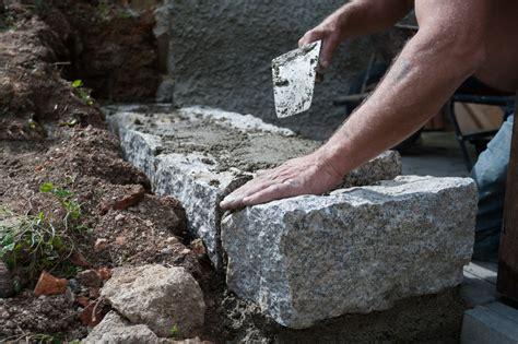gartenmauer bauen diese kosten entstehen