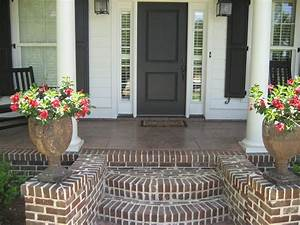 Love The  U0026quot Fan Out U0026quot  Styling Of This Front Porch Steps And