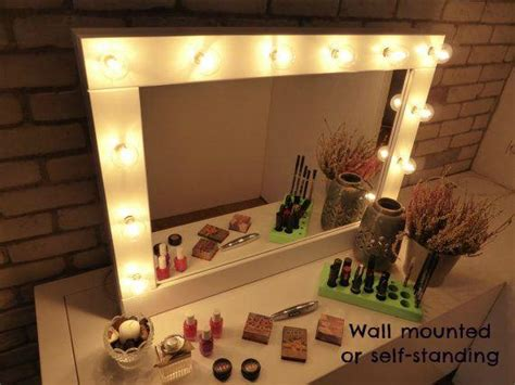 Vanity Mirror With Bulbs - make up mirror with lights vanity mirror many colours