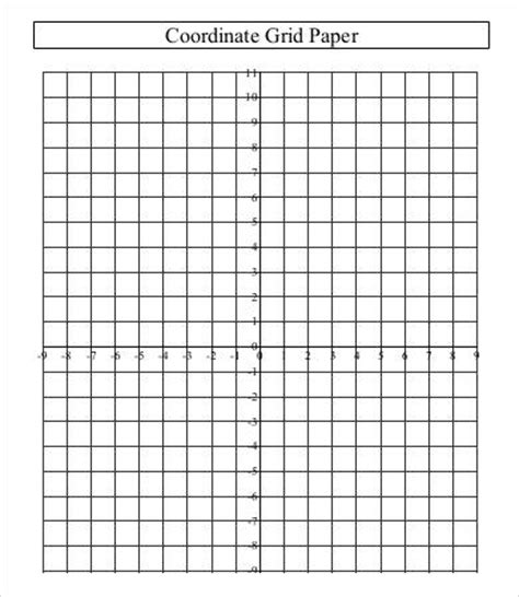Printable Grid Paper Template  10+ Free Word, Pdf Documents Download  Free & Premium Templates