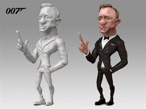 Daniel Craig As James Bond, Reference Anthony Geoffroy