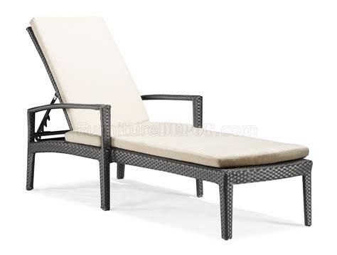 black white modern outdoor bathing lounge chair